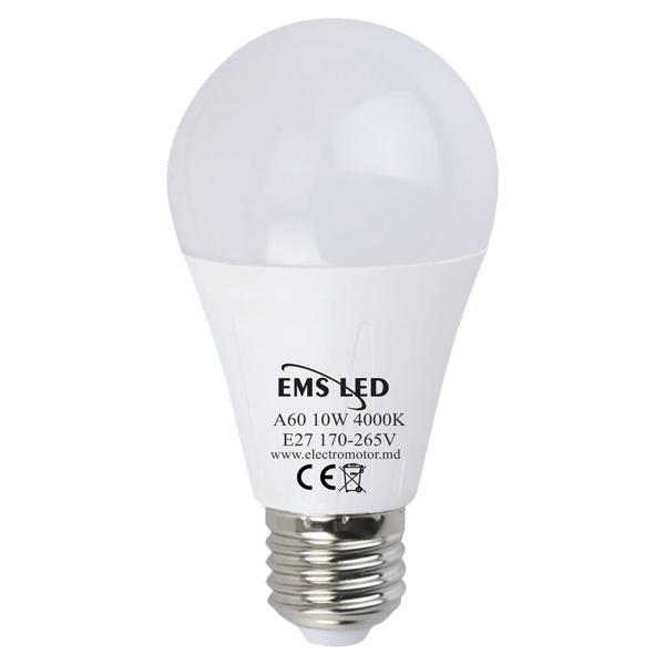 Bec LED 10W 4000K EMS