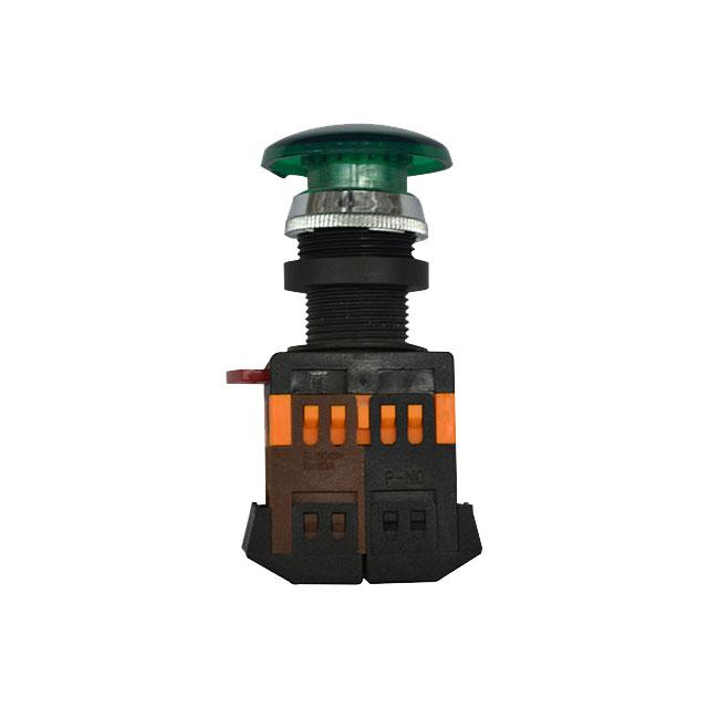 Buton AELA-22 220V verde Kasan