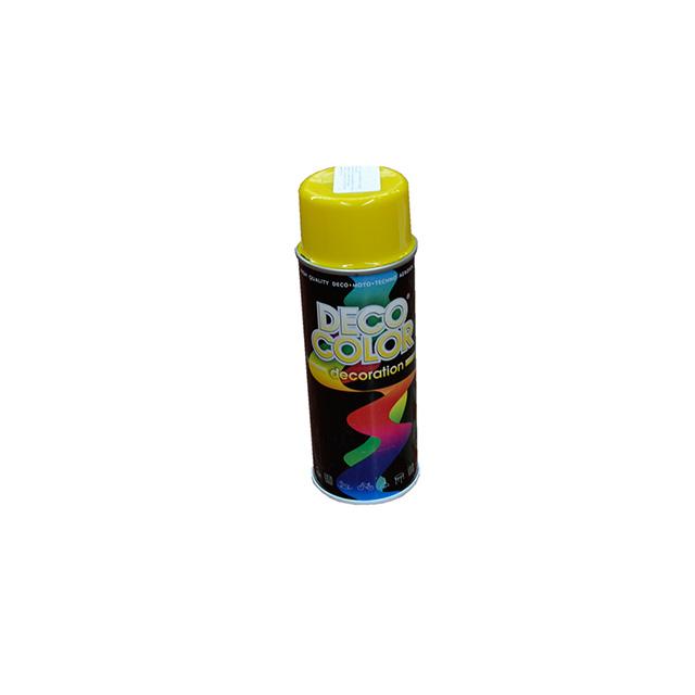 Vopsea spray galben 400 ml Deco Color