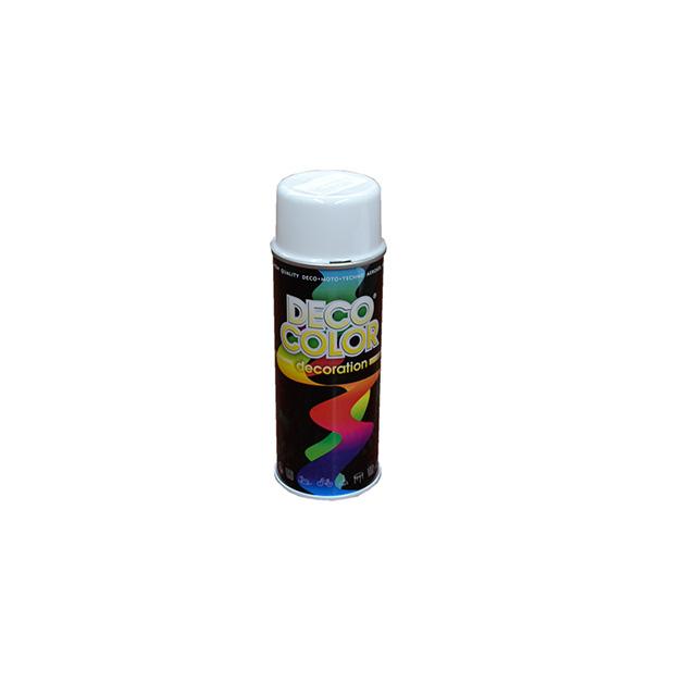 Vopsea spray alb lucios 400 ml Deco Color