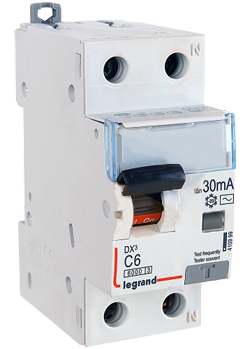 Intrerupator automat diferential DX 1P+NR 10 A 30mA Legrand
