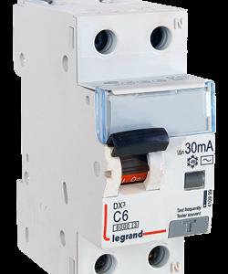 Intrerupator automat diferential DX 1P+NR 16A 30mA Legrand