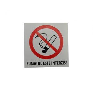 Autocolant Fumatul interzis