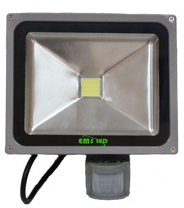 Proiector LED cu senzor 10W 6500K EMS