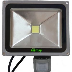 Proiector LED cu senzor 20 W 6500K EMS