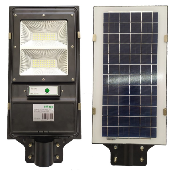 Corp de iluminat stradal solar LED 40 W 6500K EMS