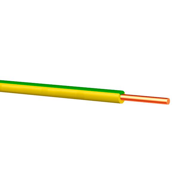 Fir electric PV1 1 x 10 mm² galben/Verde