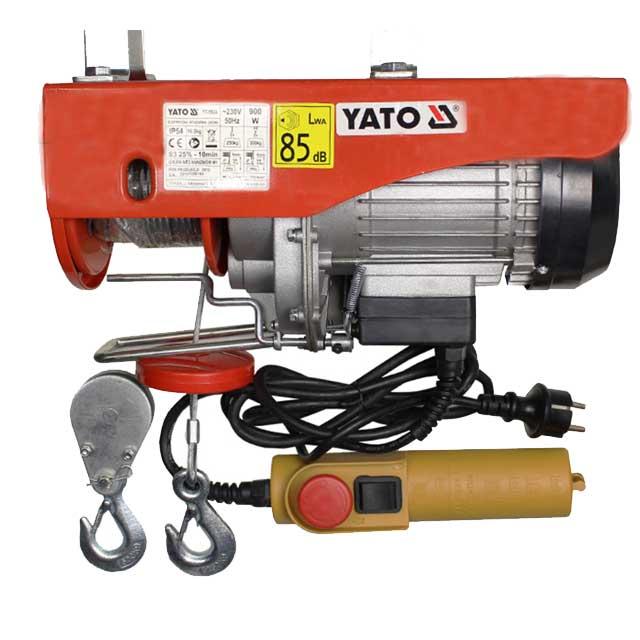 Troliu electric cu cablu YT-5904 900W 250/500 kg