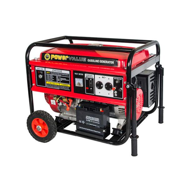 Generator / Aparat de sudat ZH6500E-W 5.0 KW Genour