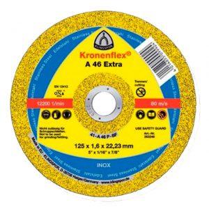 Disc de tăiere metal 125 x 1.6 x 22.23 mm Kronenflex