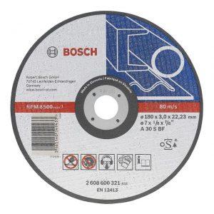 Disc de tăiere metal 125 x 1.6 mm Bosch
