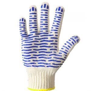 Mănuși alb/Albastru