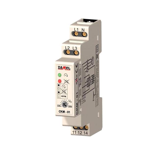 Releu control faza CKM-01 10A 230 V Zamel