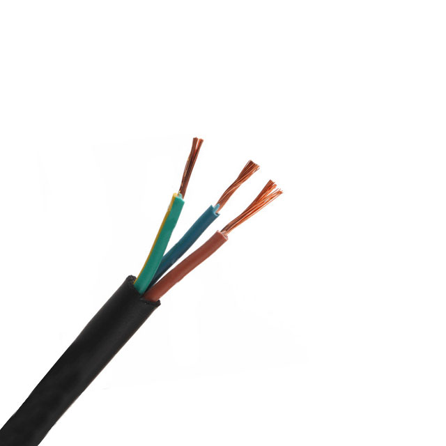 Fir electric H05VV-F 3 x 1.5 mm²