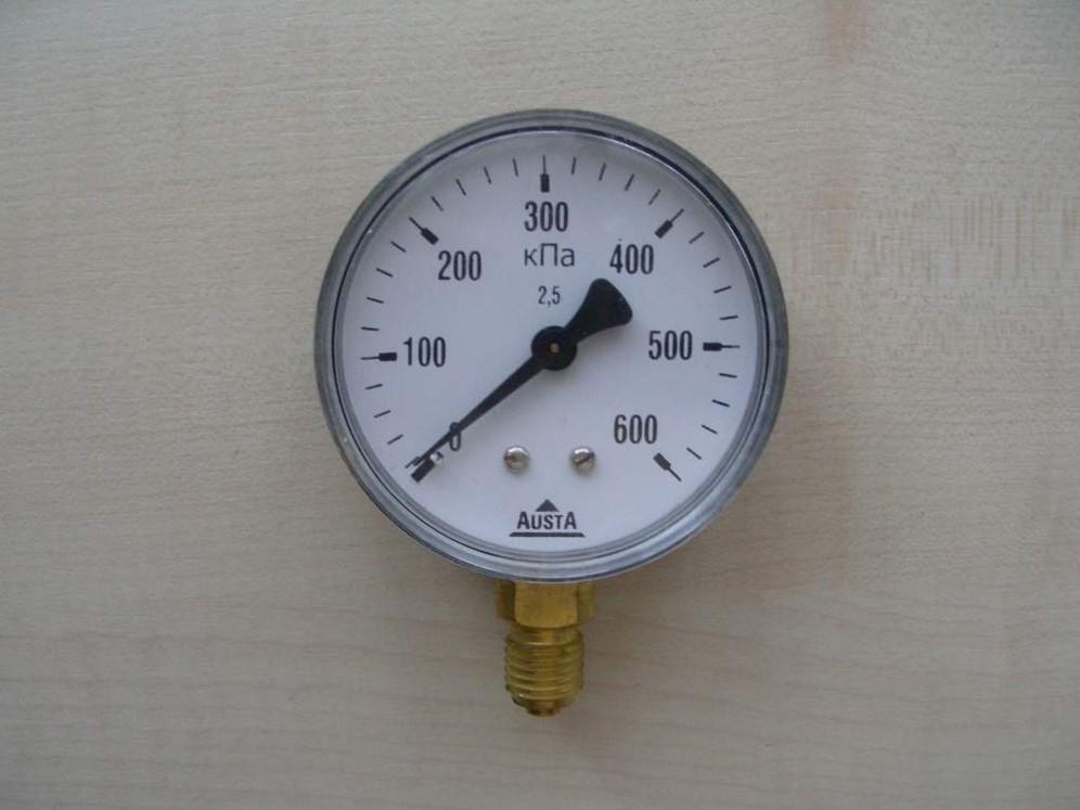 Manometru de presiune 0-6 MPa