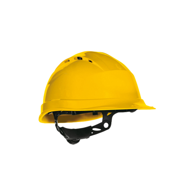Cască de protecție galben