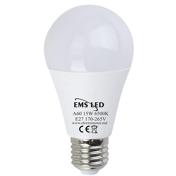 Светодиодная лампа 15Вт 6500K EMS