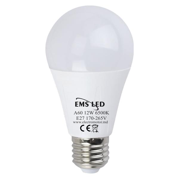 Bec LED 12W A60 6500K E27 EMS