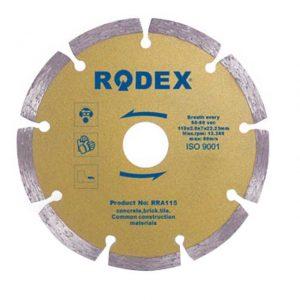 Disc diamant 180 x 22.2 mm Rodex