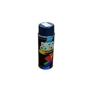 Vopsea spray albastru închis 400 ml Deco Color
