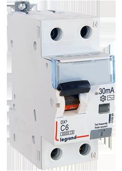 Intrerupator automat diferential DX3 1P+NR 16A 10mA Legrand