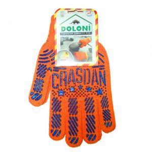 Mănuși orange/Negru