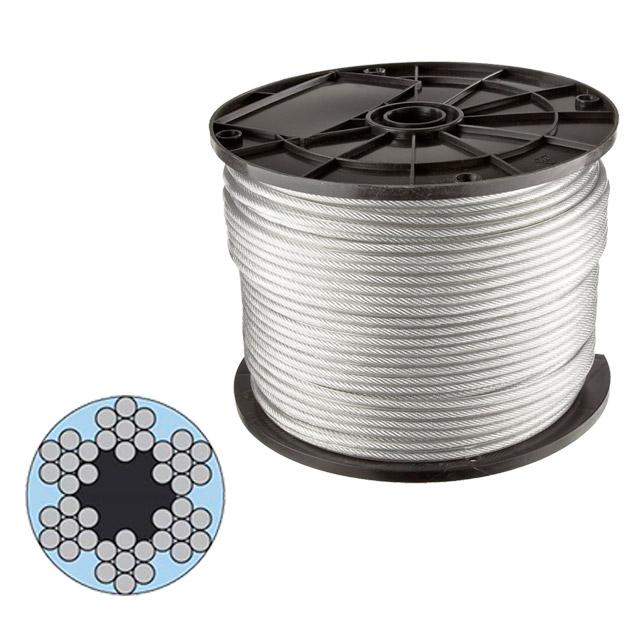 Cablu de oţel 10 mm 6x7