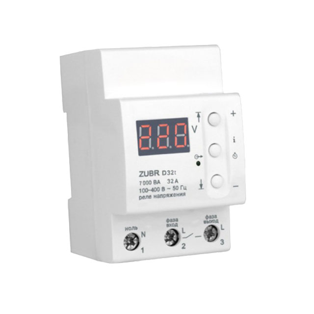 Releu control tensiune 3F 100 - 400 V