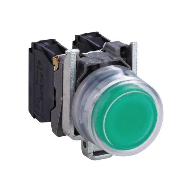 Buton XB4BP31 220 V verde Schneider