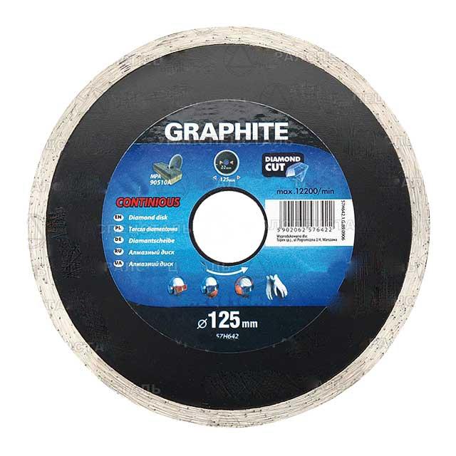 Disc diamant 125 x 22.2 mm GRAPHITE