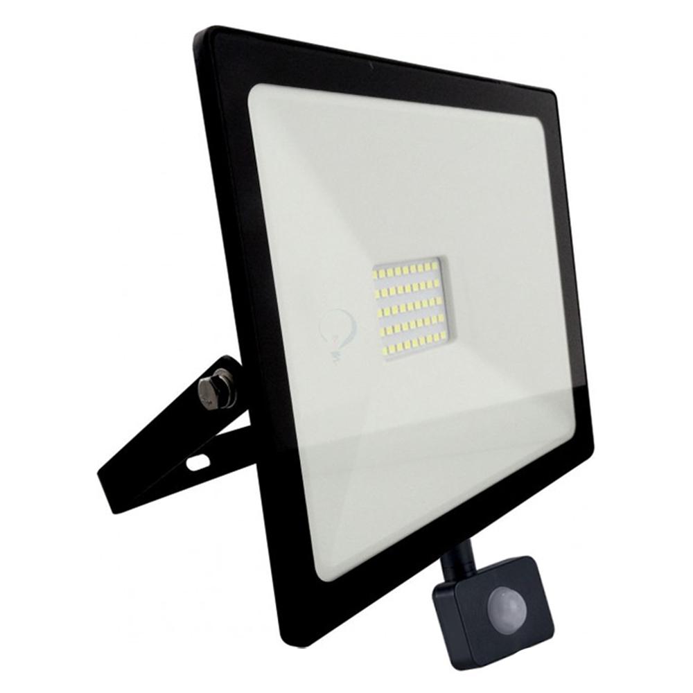 Proiector LED SLIM cu senzor 30W 6000K
